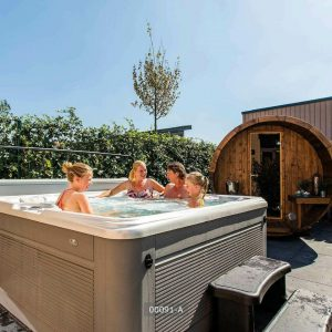 BE Deluxe six persons Wellness