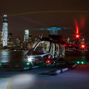 NYC city lights 30-minute helicopter ride from New Jersey